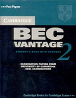 Cambridge BEC Vantage 2 Self-study Pack