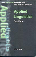 Oxford Introduction to Language Study - Applied Linguistics (Cook, G.)