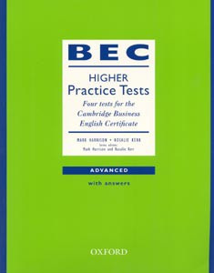 BEC Practice Tests Higher with Key (Harrison, M. - Kerr, R. - Jakeman, V.)