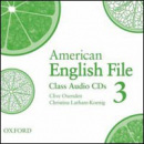 American English File Level 3: Class Audio CDs (3) (Oxenden, C. - Seligson, P.)
