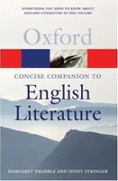 Oxford Concise Companion English Literature (Oxford Paperback Reference) (Drabble, M. - Stringer, J. - Hahn, D.)
