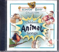 Kootie Bear Collection - Children's Animal Songs CD