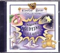 Kootie Bear Collection - Children's Bedtime Lullabies CD