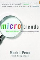 Microtrends: The Small Forces Behind Tomorrow's Big Changes (Penn, M.)