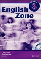 English Zone 3 Workbook with CD-ROM Pack (Nolasco, R.)
