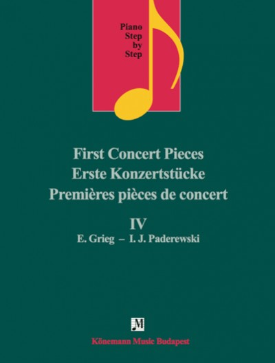 Piano Step by Step  First Concert Pieces IV
