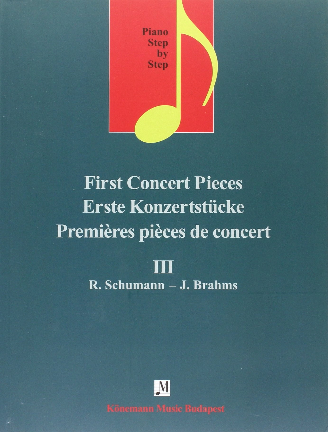 Piano Step by Step  First Concert Pieces III