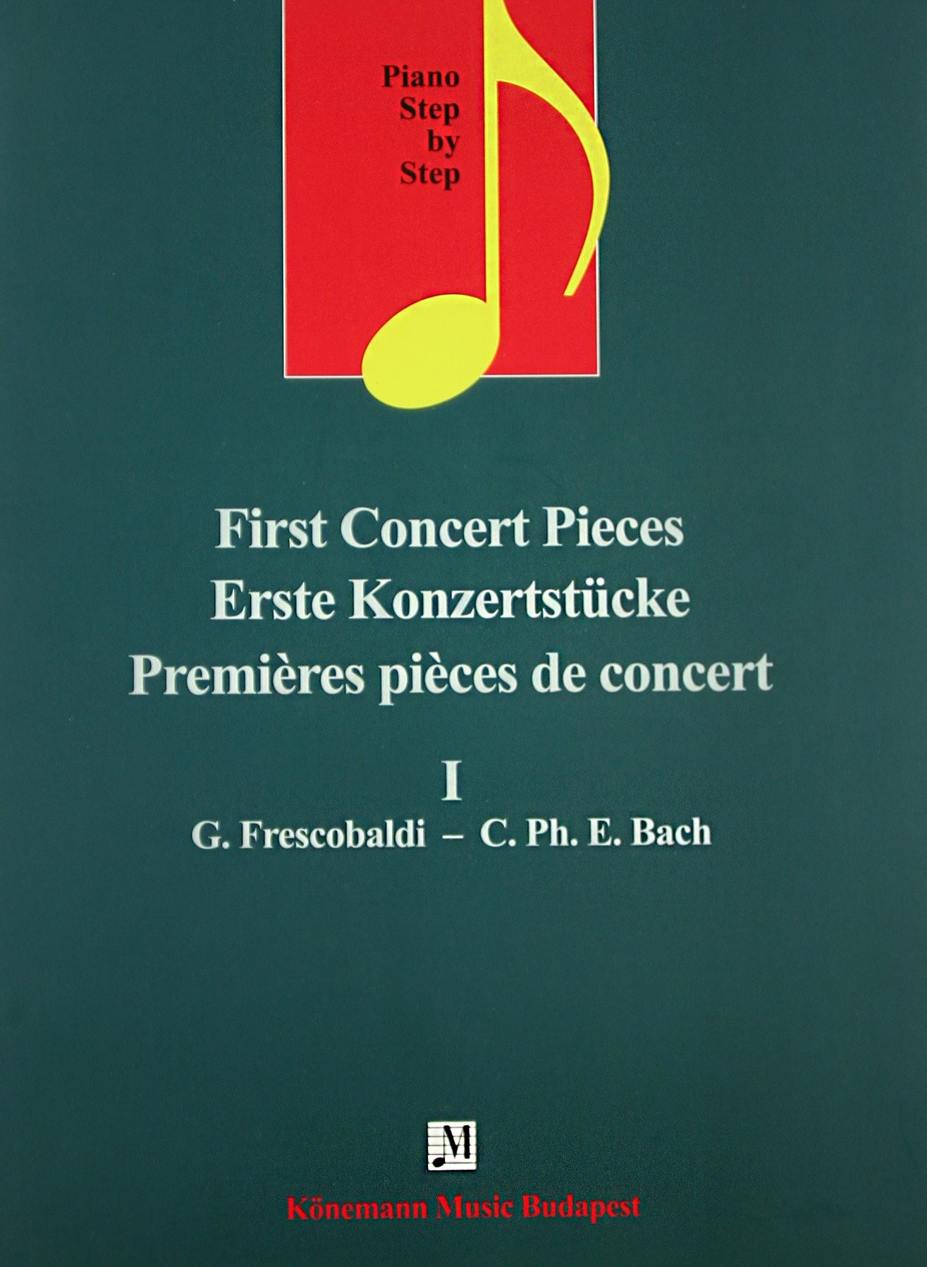 Piano Step by Step  First Concert Pieces I