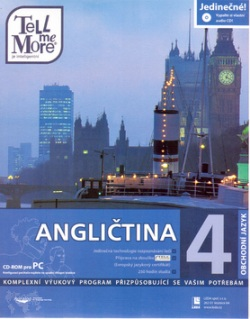 CD ROM Angličtina Tell m.M.4,7