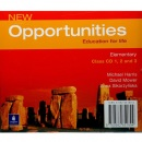 New Opportunities Elementary Class Audio CD (Harris, M.)