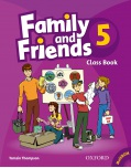 Family and Friends 5 Class Book and MultiROM - učebnica (Thompson, T.)
