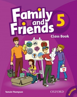 Family and Friends 5 Class Book - učebnica (2019 bez CD) (Thompson, T.)