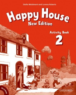 Happy House 2, New Edition Activity Book (2019 Edition) (S. Maidment, L. Roberts)