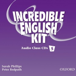 Incredible English 5 Class Audio CDs (Phillips, S. - Morgan, M. - Slattery, M.)