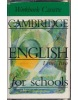 Cambridge English for Schools 2 WB Cass