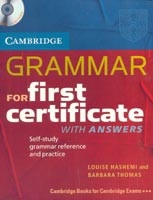 Cambridge Grammar for FC SB with Key + CD