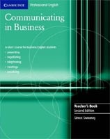 Communicating in Business TB
