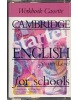 Cambridge English for Schools Starter WB Cass