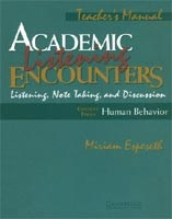 Academic Listen Encounters Human Behavior TB (Seal, B. - Espeseth, M.)