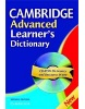 Cambridge Advanced Learner's Dictionary pb +CD-ROM