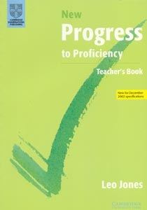 New Progress to Proficiency TB