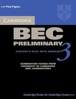 Cambridge BEC Preliminary 3 Self-study Pack