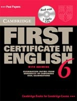 Cambridge FC in English 6 Self-study pack