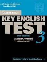Cambridge Key English Test 3 SB with Key