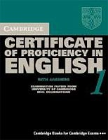 Cambridge CPE 1 SB with Key