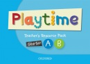 Playtime Starter + A + B Teacher's Resource Pack (Selby, C.)