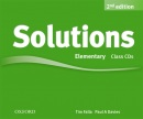 Solutions, 2nd Elementary Class Audio CDs (3) (Falla, T. - Davies, P.)
