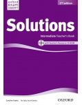 Solutions, 2nd Intermediate Teacher's Book + CD-ROM (Falla, T. - Davies, P.)