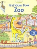 First Sticker Zoo (Usborne First Sticker Books) (Taplin, S.)