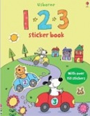 123 Sticker Book (Usborne Sticker Books) (Taplin, S.)