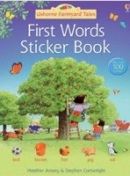 First Word Sticker Book (Amery, H.)