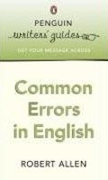Common Errors and Problems in English (Allen, R.)