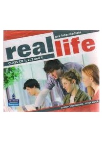 Real Life Pre-Intermediate Class Audio CDs 1-4 (S. Cunningham, P. Moore, M. Hobbs, J. Keddle, J. Bygrave)
