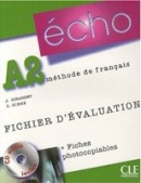 Écho A2 Fichierd'évaluation (photo) + CD (Girardet, J.)