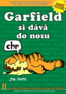Garfield si dává do nosu (Jim Davis)