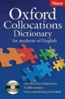 Oxford Collocations Dictionary N. E. + CD-ROM (autor neuvedený)