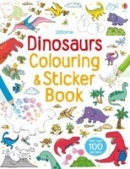 Dinosaurs Colouring and Sticker Book (Colouring & Sticker Book) (Taplin, S.)