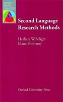 Oxford Applied Linguistics - Second Language Research Methods (Seliger, H. W. - Shohamy, E.)