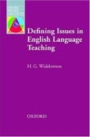 Oxford Applied Linguistics - Defining Issues in English Language Teaching (Widdowson, H. G.)