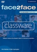 face2face Pre-intermediate Classware DVD-ROM (single classroom) (Chris Redston, Gillie Cunningham)