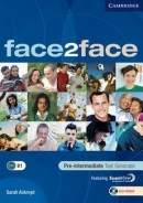 face2face Pre-intermediate Test Generator CD-ROM (Sarah Ackroyd)