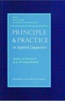 Oxford Applied Linguistics - Principle and Practice in Applied Linguistics (Cook, G. - Seidlhofer, B.)