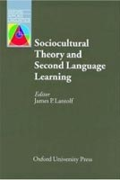 Oxford Applied Linguistics - Sociocultural Theory and Second Language Learning (Lantolf, J. P.)
