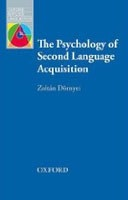 OAL The Psychology of Second Language Acquisition (Dornyei, Z.)