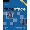 face2face, 2nd edition Pre-intermediate Teacher's Book with DVD - metodická príručka (Redston, Ch. - Cunningham, G.)