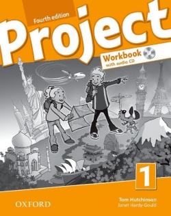 Project, 4th Edition 1 Workbook + CD (International Edition) (Hutchinson, T.)